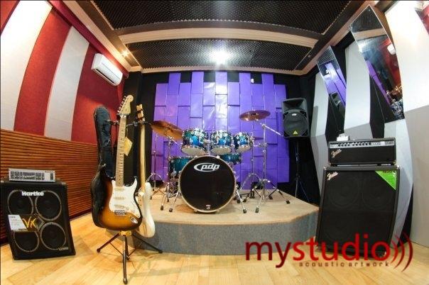 Jasa Peredam Suara Ruangan Studio Musik Dan Recording My Studio