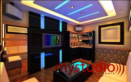 Pembuatan Karaoke Room Ruang Karaoke Desain Interior Karaoke